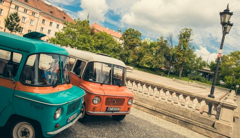 Boat and Retro Van Tour <span>3h guided tour </span> - 2 - Wroclaw Tours